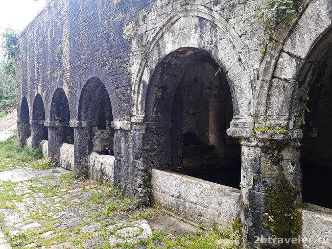 средневековая прачечная сан джиминьяно