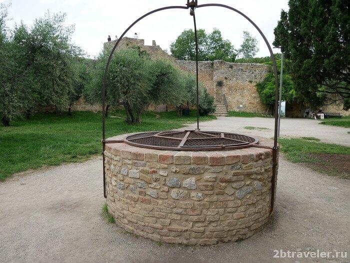 крепость рокка сан джиминьяно