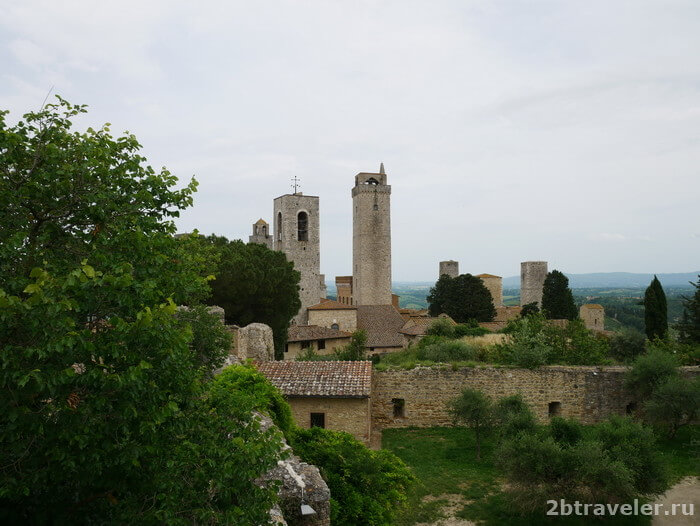 башни сан джиминьяно