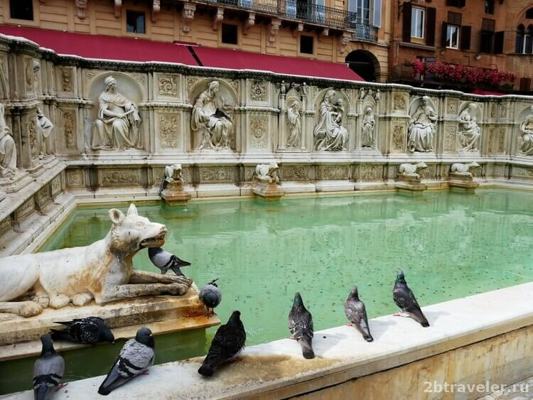 фонтан радости сиена