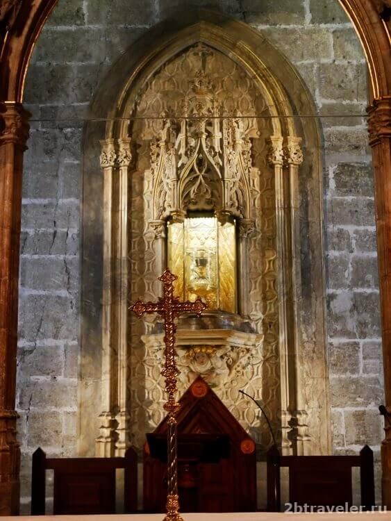 святой грааль валенсия собор