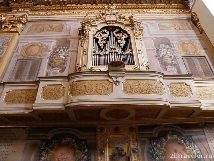 орган моцарта болонья