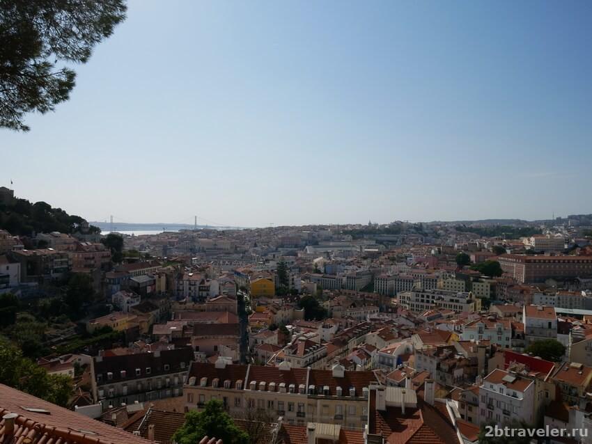 лиссабон смотровая площадка