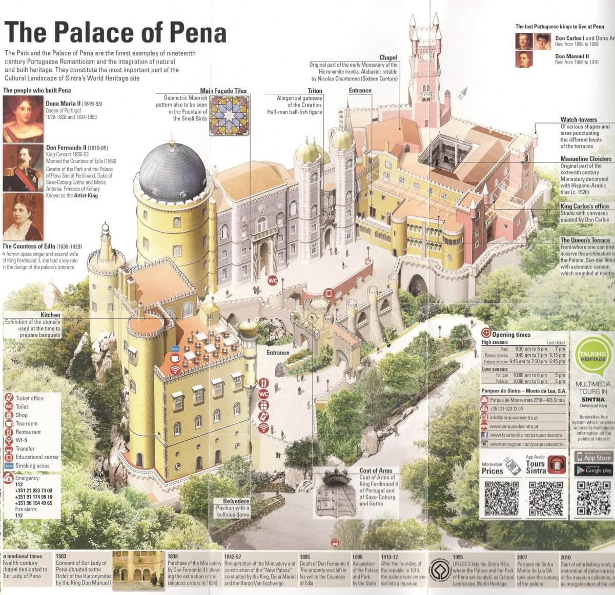 дворец пена схема
