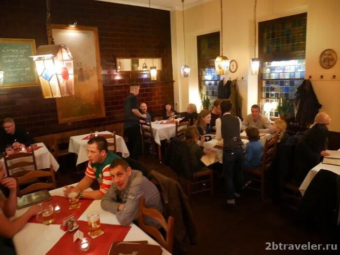 немецкий ресторан в берлине