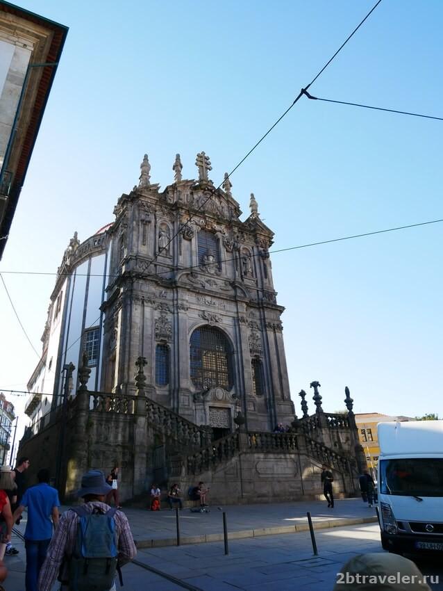 церковь клеригуш порту