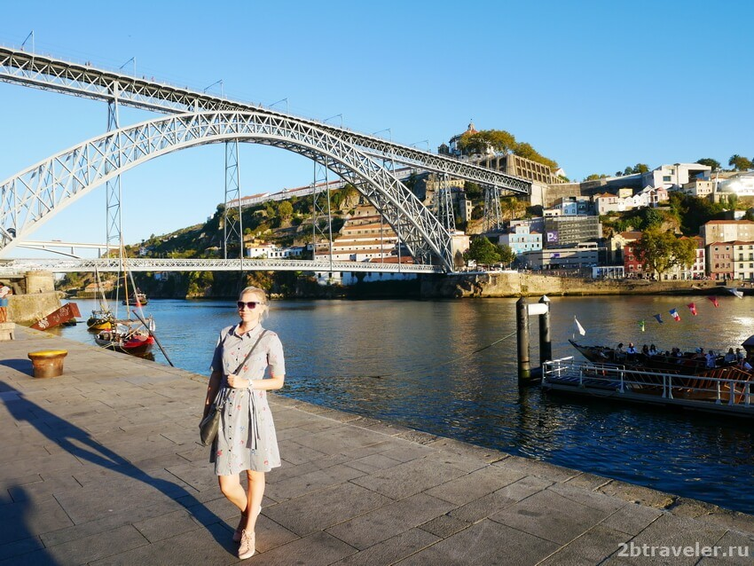 мост луиша порту