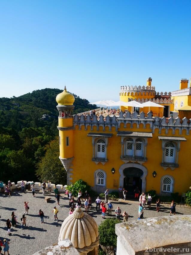 лиссабон дворец пена