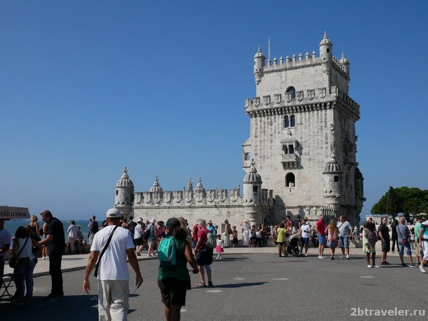 башня белем лиссабон