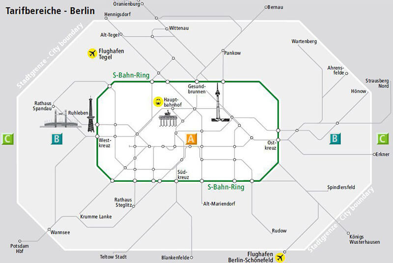 транспорт мюнхена схема