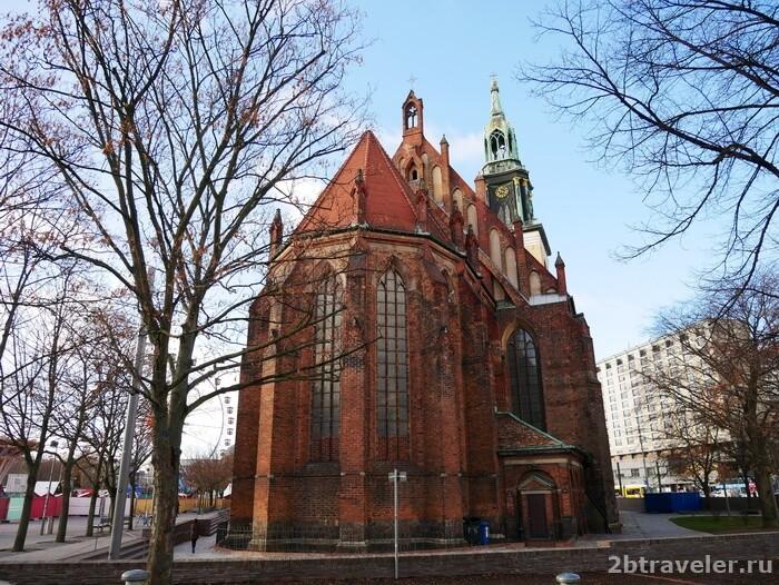 церковь святой марии берлин