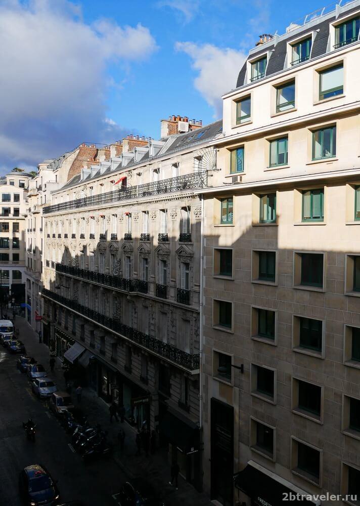 отель в париже отзыв