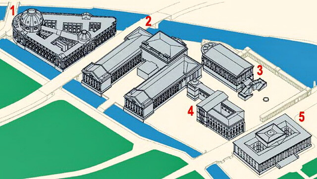 карта музейного острова берлин