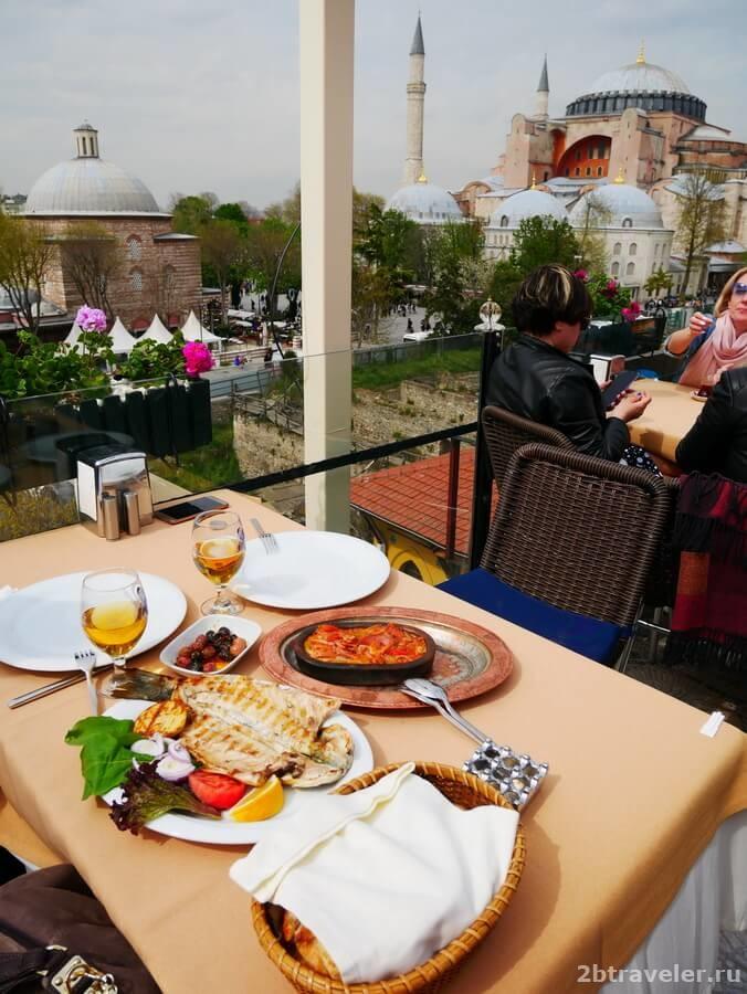 рестораны с видом стамбул