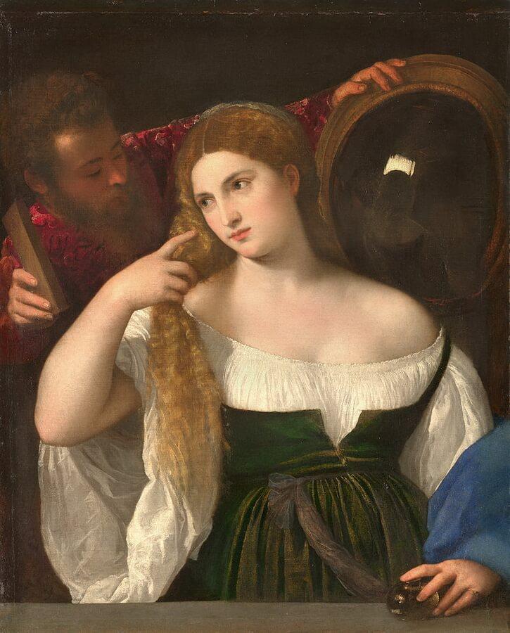 известные картины лувра