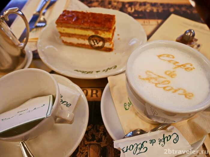 литературные кафе парижа