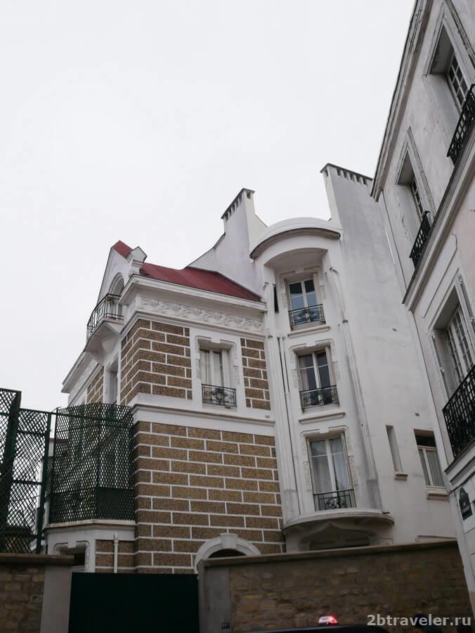 дом далиды на монмартре