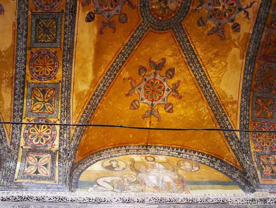 мозаики в айя софия стамбул