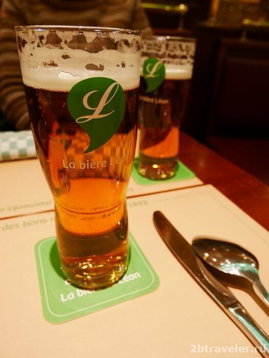 пиво леон де брюссель