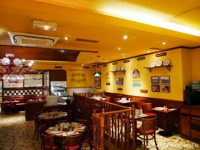 ресторан leon paris