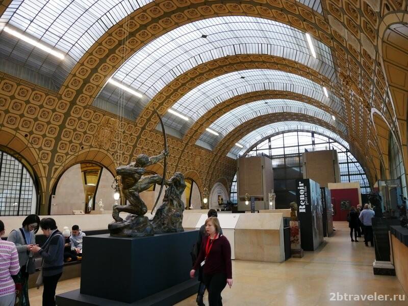 экспозиция музея орсе