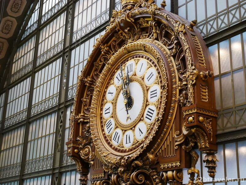 часы музея орсе
