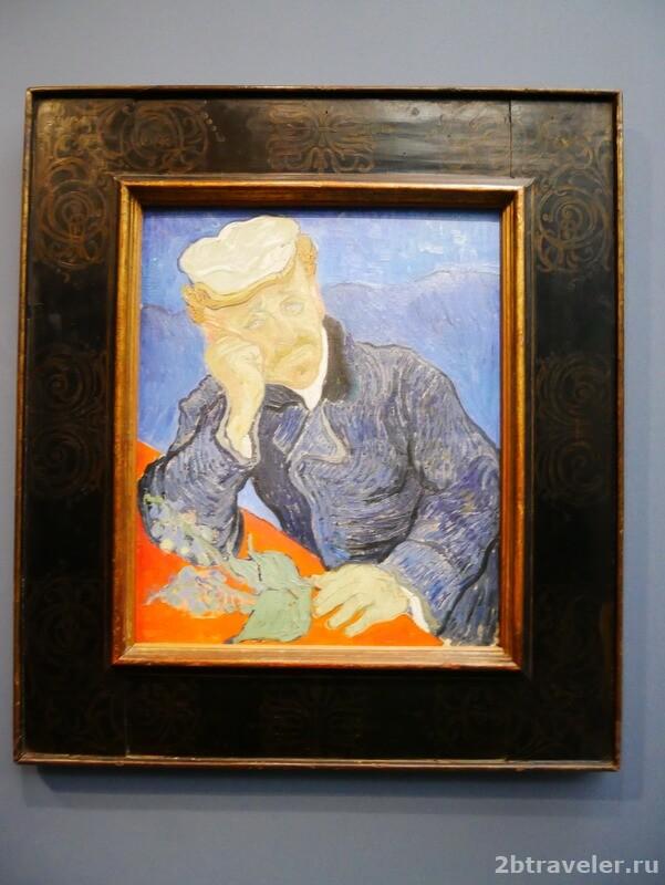 портрет доктора гаше ван гог музей орсе