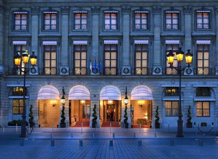 отель ритц в париже
