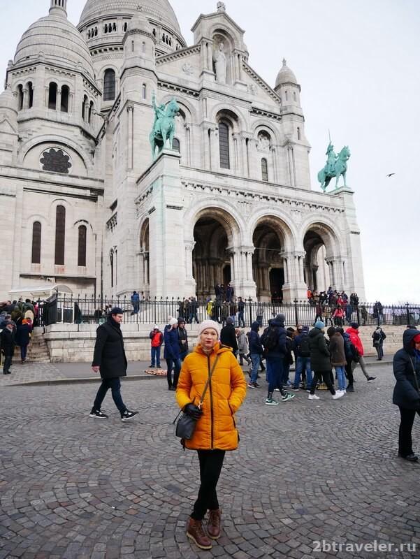 собор сакре кер в париже