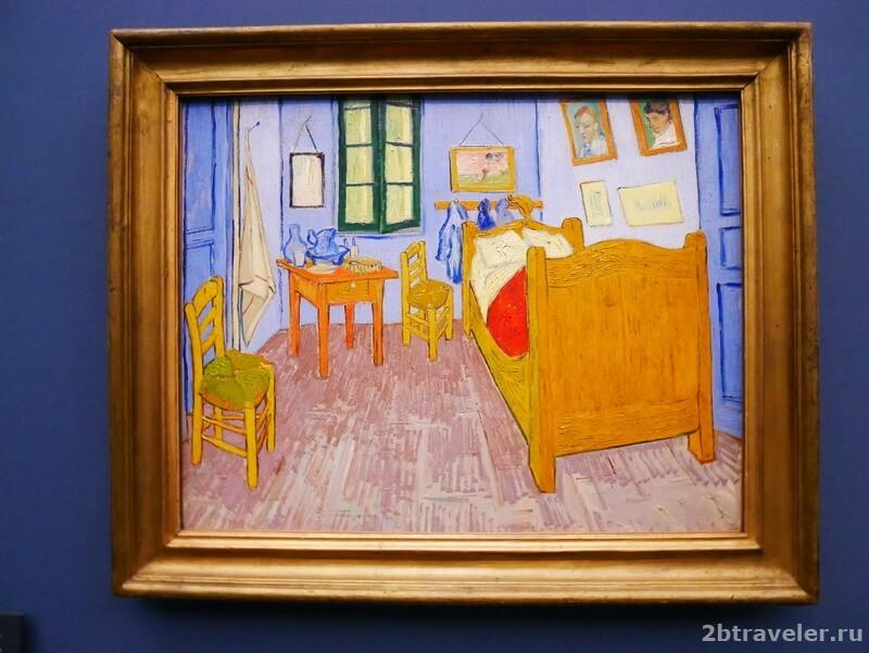 спальня в арле ван гог музей орсе