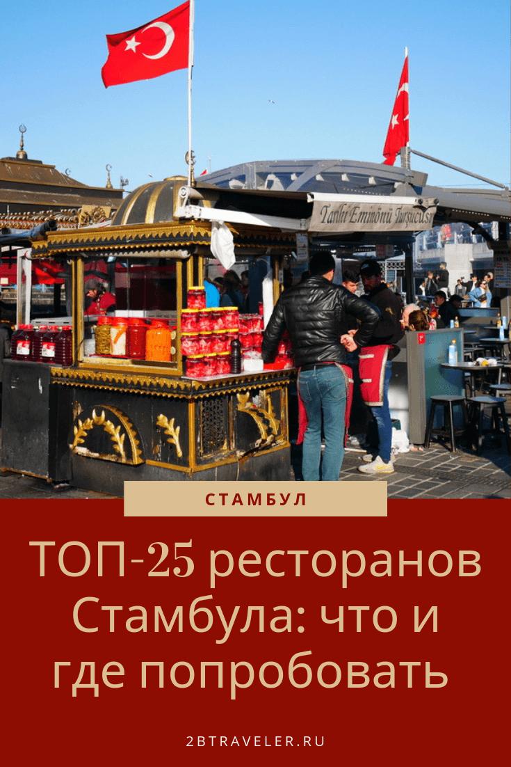 ТОП-25 ресторанов Стамбула: что и где попробовать | Блог Елены Казанцевой 2btraveler.ru