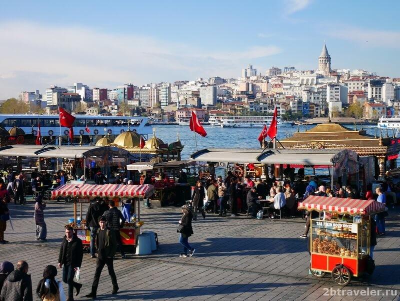 в каком районе остановиться в стамбуле туристу