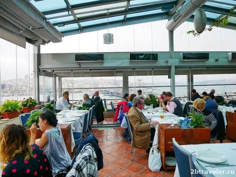 рестораны с видом на босфор