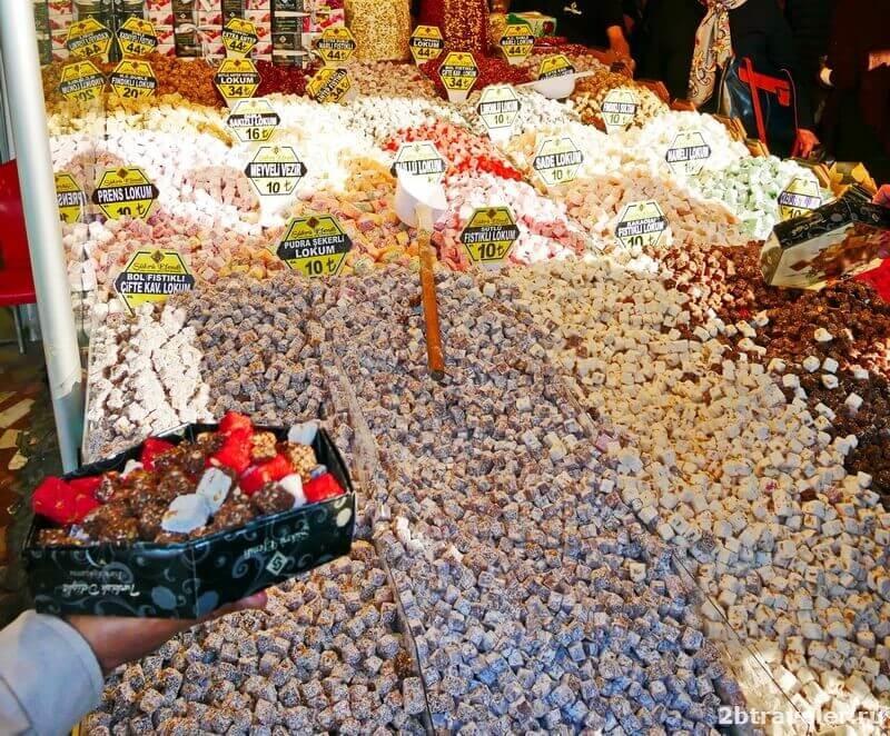 названия турецких сладостей