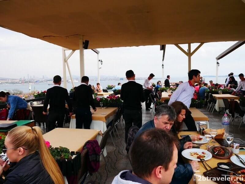 панорамные рестораны стамбула