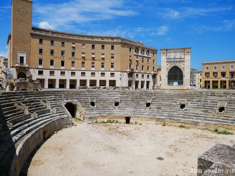 лечче италия амфитеатр