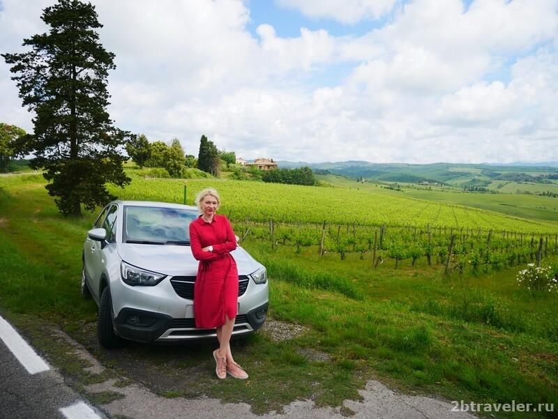 маршрут по италии на авто