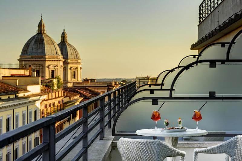 отель рядом с термини рим