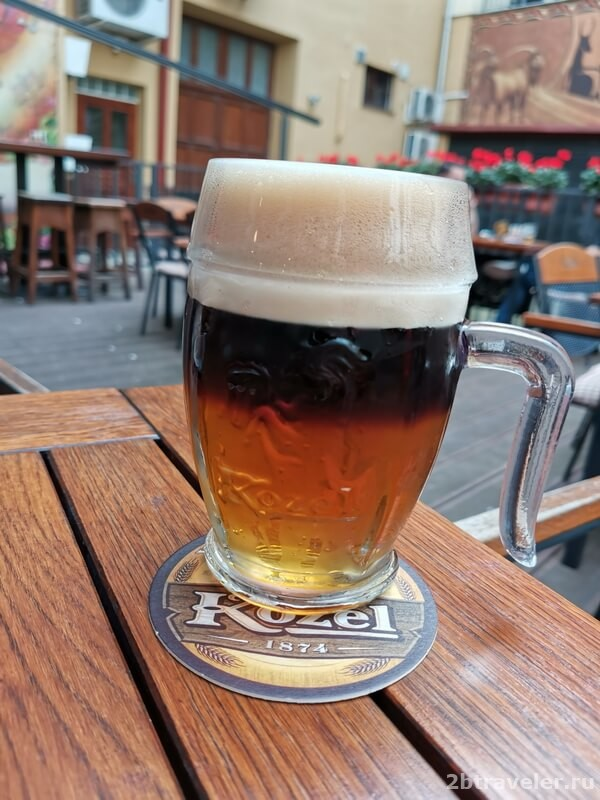 пиво козел прага