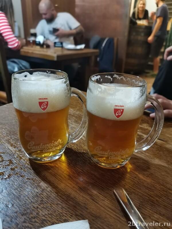 у медвидку пиво