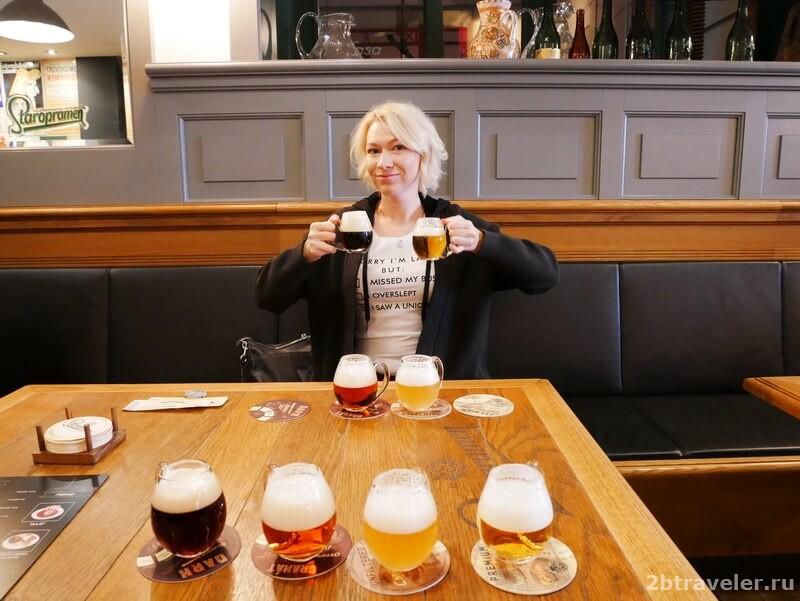 пиво прага