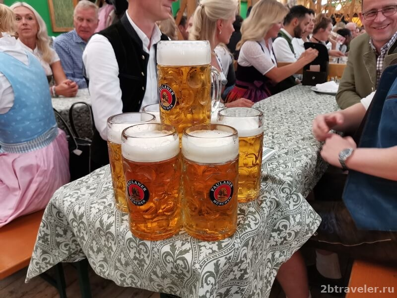 пауланер октоберфест пиво
