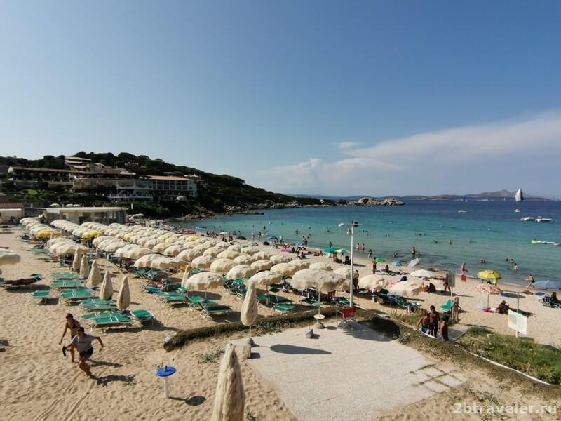 байя сардиния пляж