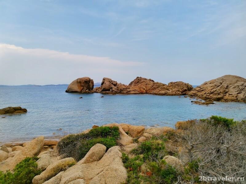 пляжи байя сардинии