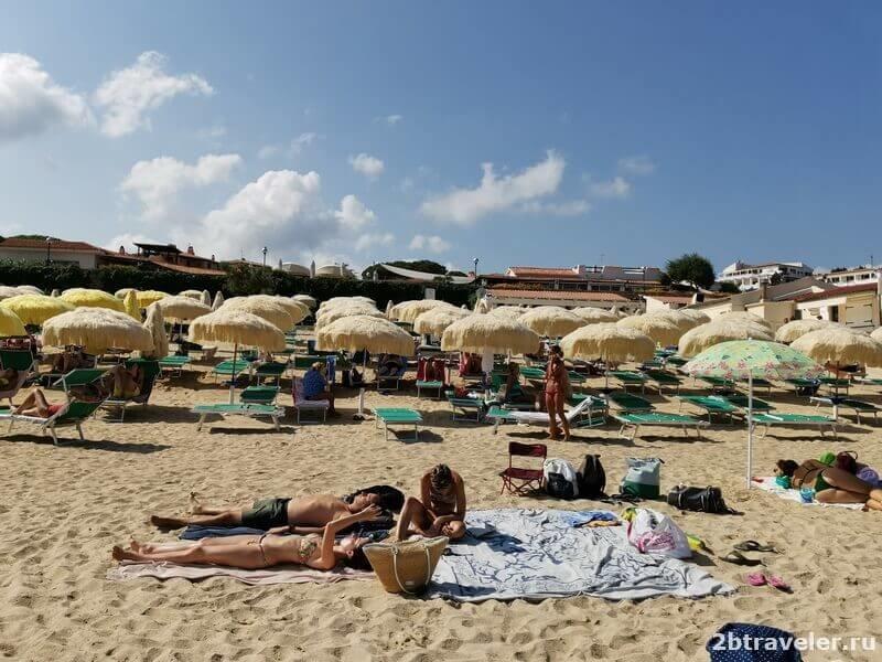 sardinia hotels with a sandy beach