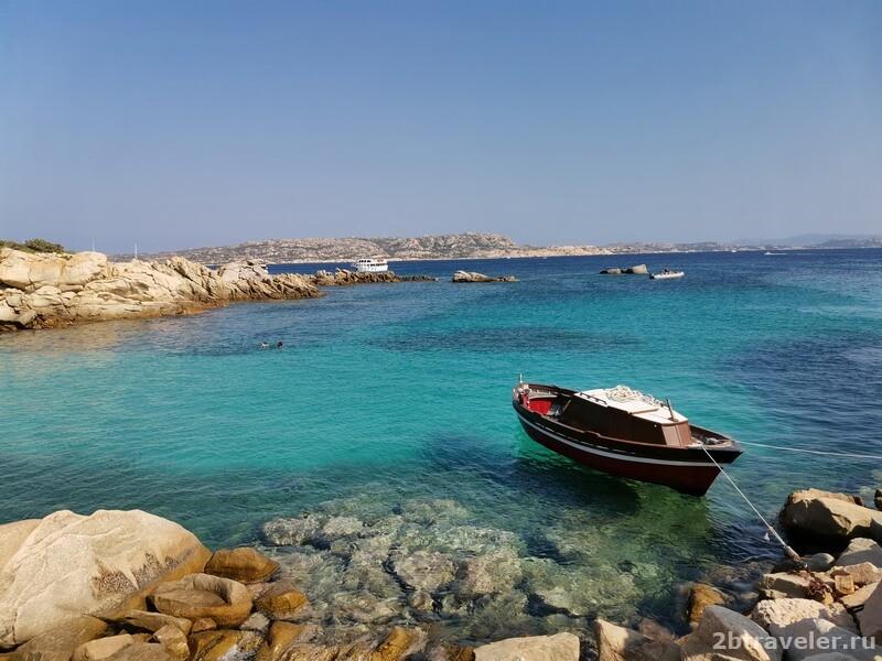 яхта на сардинии