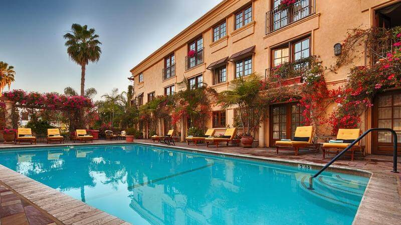 отель беверли хиллз в лос анджелесе