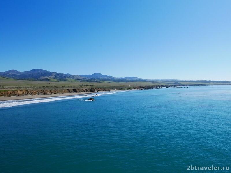 калифорния вид на тихий океан