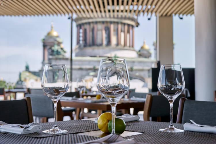 рестораны с видом спб