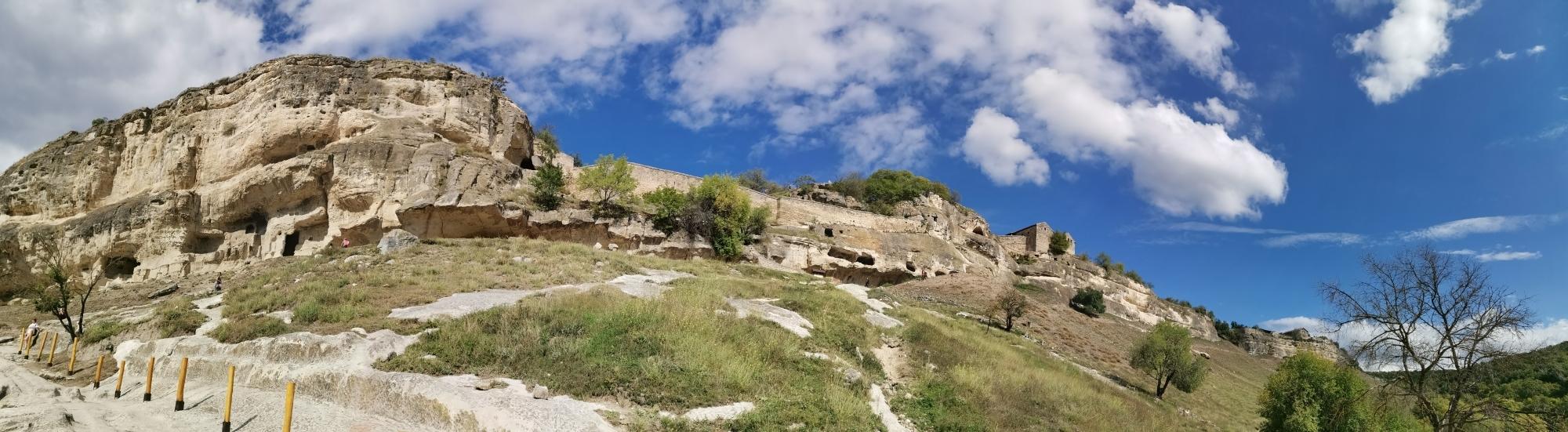 чуфут кале пещерный город фото